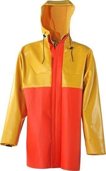 Guy Cotten Jacke X-Trapper gelb / orange