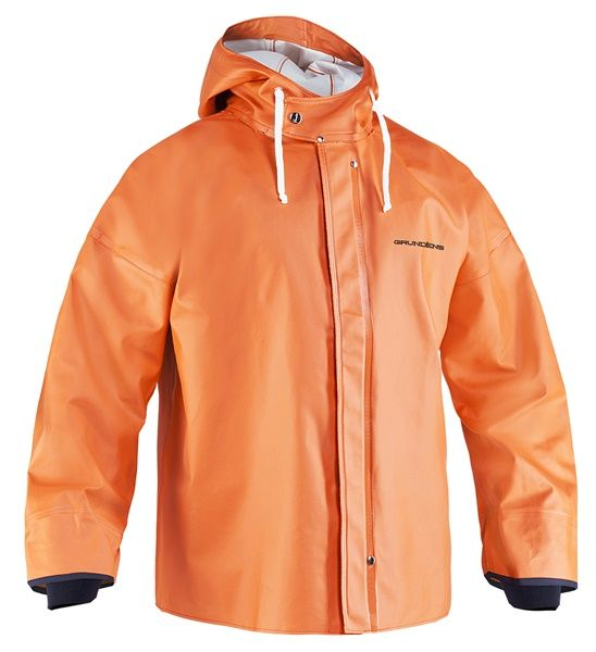 Grundens Brigg Jacke 44 orange XS-4XL