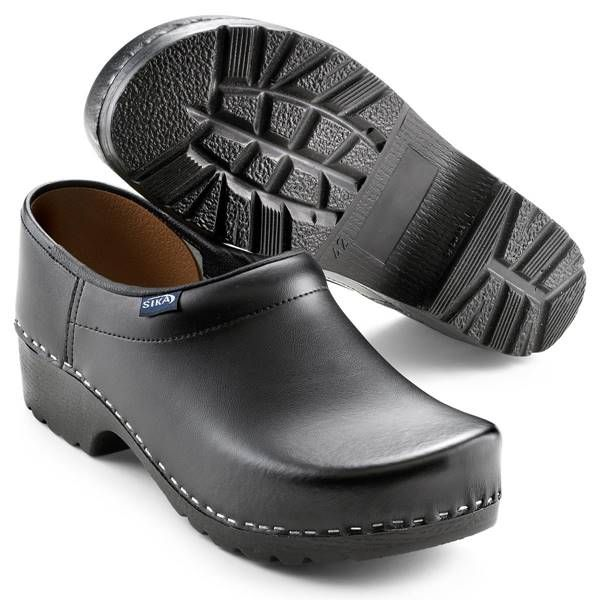 Sika Clog Traditionel 124 schwarz