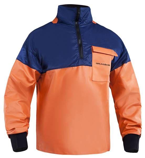 Grundens Halsö 780 navy orange