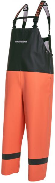 Grundens Balder Hose 504 orange/schwarz
