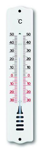 TFA Innen-Außenthermometer Metall