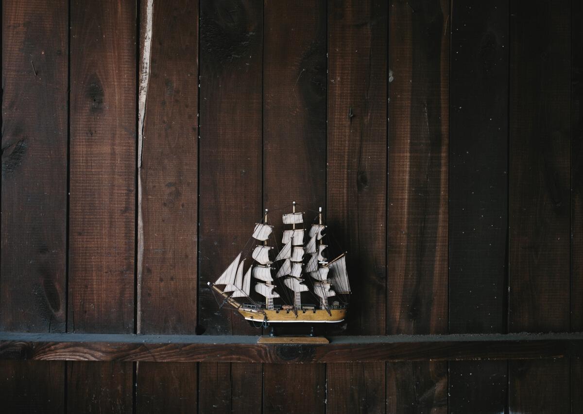 Maritime deko segelbox - Maritime dekoration ...