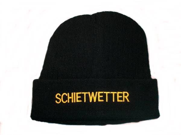 Mütze Schietwetter schwarz