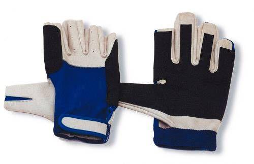 Handschuhe Aramid Kunstleder 5 Finger geschnitten