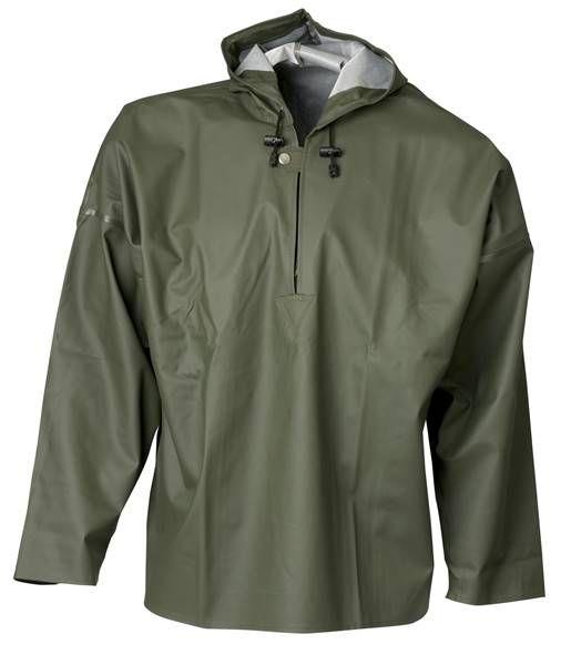 Elka Schlupf Jacke grün oliv 037100