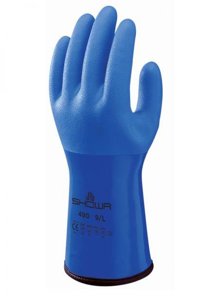 Showa Handschuhe 490 blau