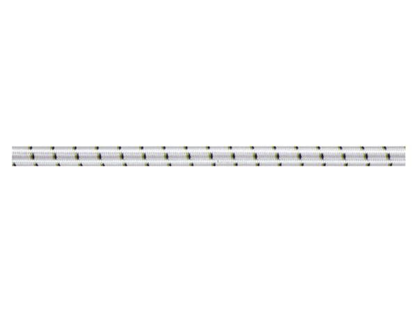 Liros Gummiseil weiß 4mm