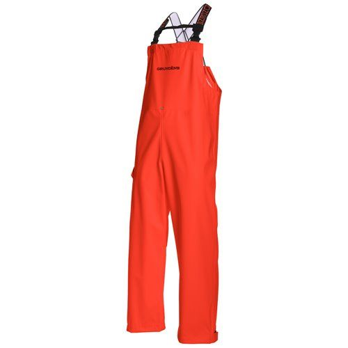Grundens Neptune 509 Latzhose orange